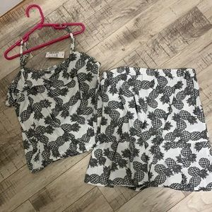 Children's Place tank and skirt set
